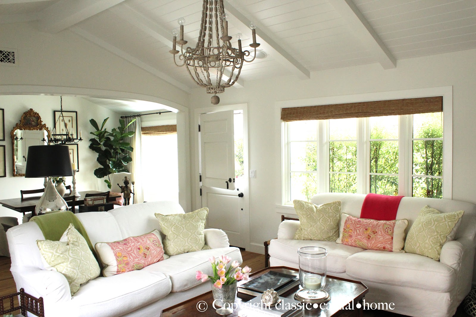 Bloggers beautiful abodes...Mary Ann of Classic Casual ...