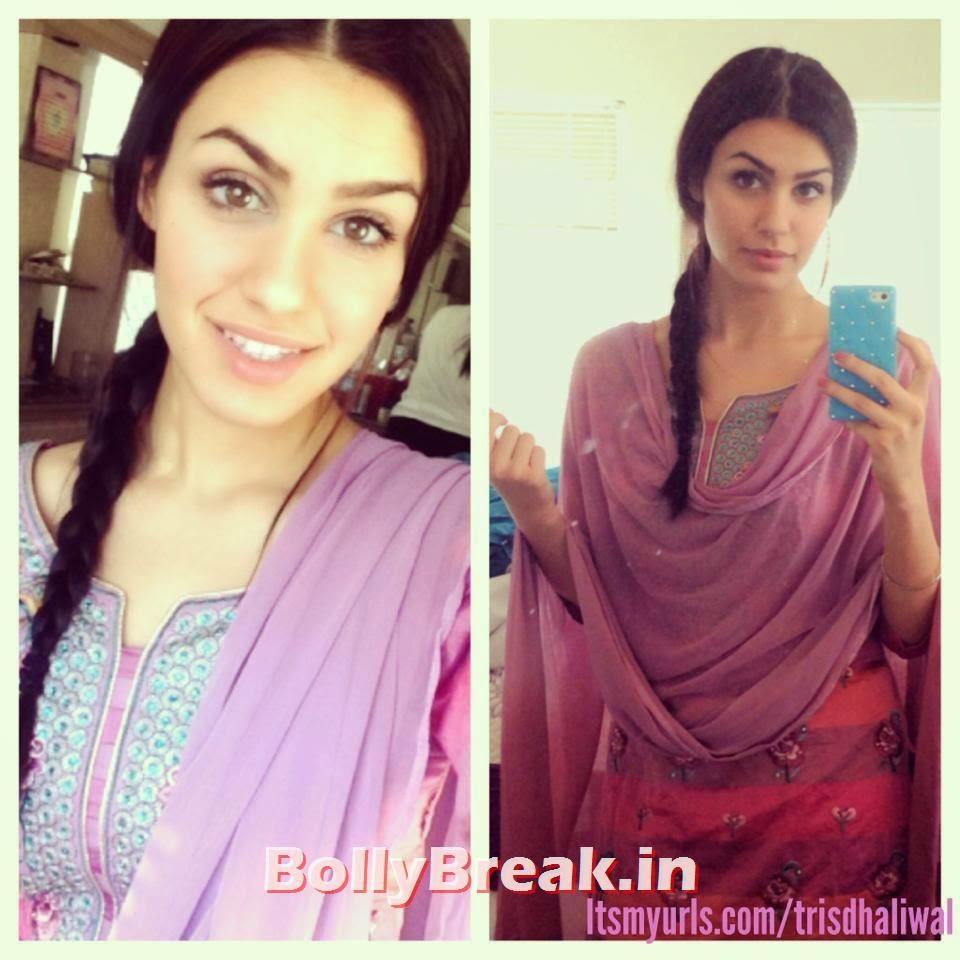 , Punjabi Jatti Girl Pics in Punjabi Suit
