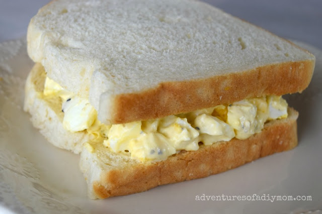 egg salad with miracle whip