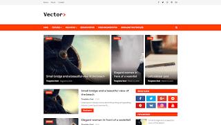 Vector V1.0 - Responsive Blogging Blogger Template - Free Download