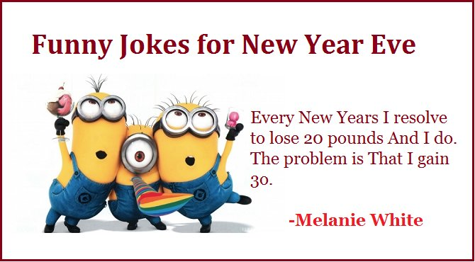 funny jokes new year eve 2017 resolution