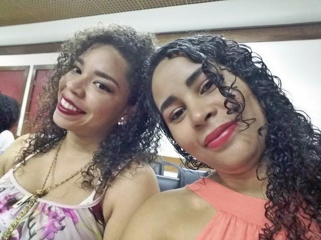 Encontro de cacheadas Salvador Kero Kachos, Natu Hair, Geisa Santos e Josiene Minervino