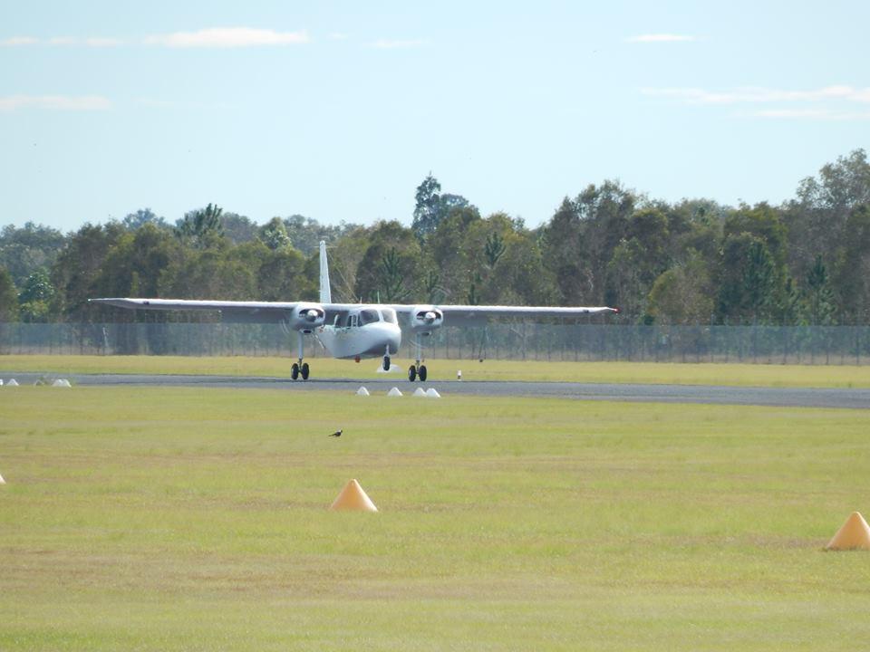 Central Queensland Plane Spotting Pilatus Britten Norman