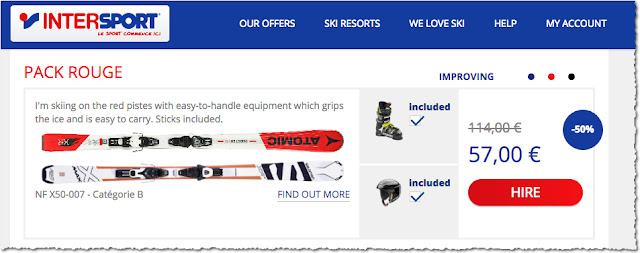 Cheap ski and boot hire - Intersport