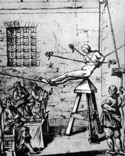 Instrumentos  de tortura reales La-cuna-de-Judas-finales-S.-XVII.-Desconocido