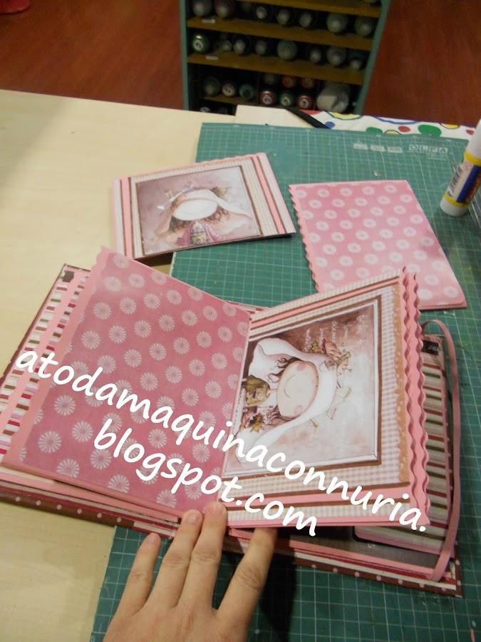Personaliza tu álbum de scrapbooking para el día de la madre con papeles de scrap de cocina