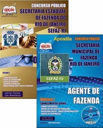 Apostila SEFAZ/RIO - Agente Fazendário RJ - SMF