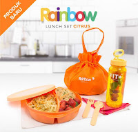 Dusdusan Rainbow Lunch Set Citrus ANDHIMIND
