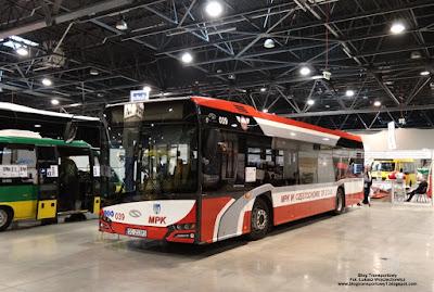 Solaris Urbino 12, MPK Częstochowa, SilesiaKOMUNIKACJA 2017