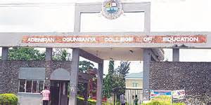 [Updated] List of Accredited Courses Adeniran Ogunsanya College of Education