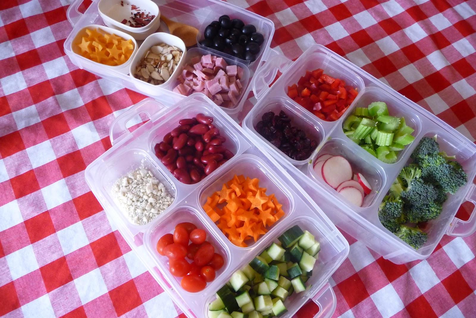 How to Make a Salad Bar - Beneficial Bento