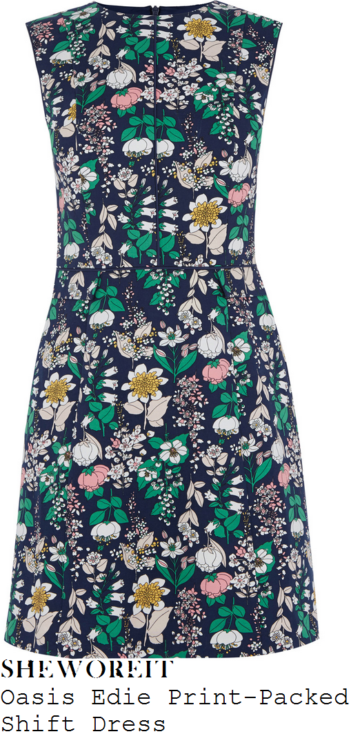 vicky-pattison-oasis-edie-navy-blue-and-multicoloured-floral-print-packed-shift-dress