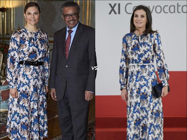 👗Crown Princess Victoria of Sweden vs Queen Letizia of Spain