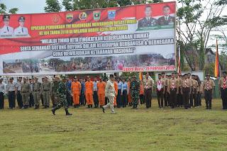 Wagub Sumbar Buka TMMD ke 104 di Mentawai