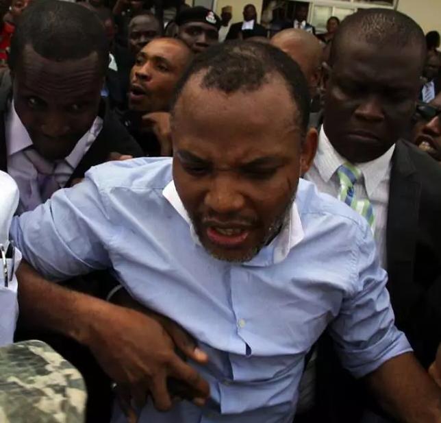 treason charges nnamdi kanu denounce biafra