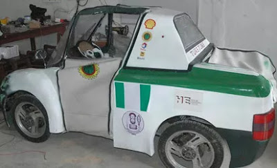 Tuke-Tuke car designed by UNIBEN students
