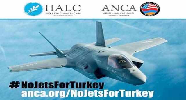 Congresistas de EE.UU. buscan bloquear venta de cazas a Turquía