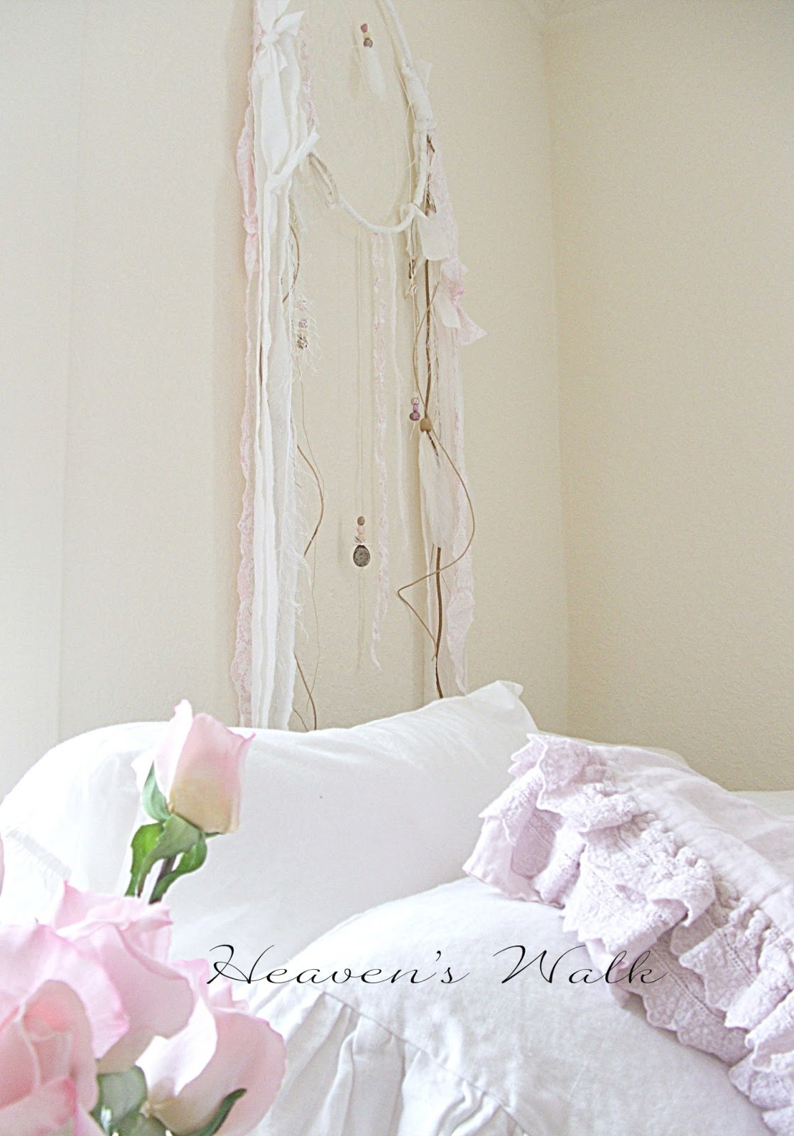 Heaven S Walk Lilac Floral Curtains
