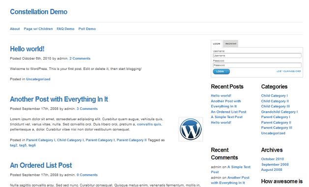 Social Media: + 50 Mejores Temas de WordPress Responsive