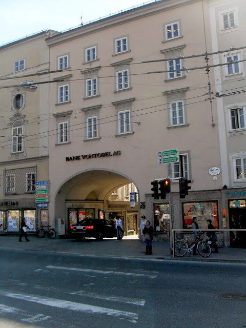 calles y pasajes en Salzburgo