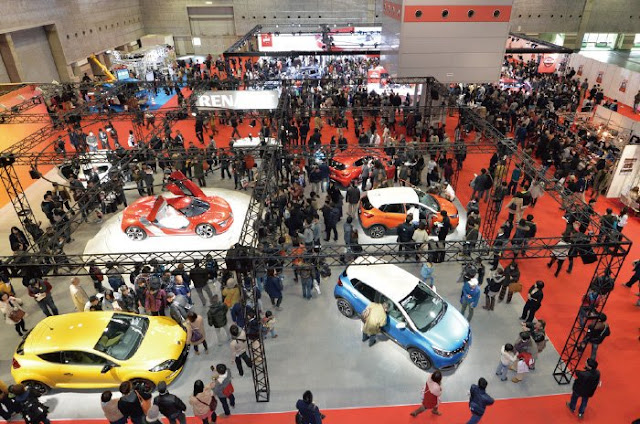 Osaka Motor Show 2017 at INTEX Osaka