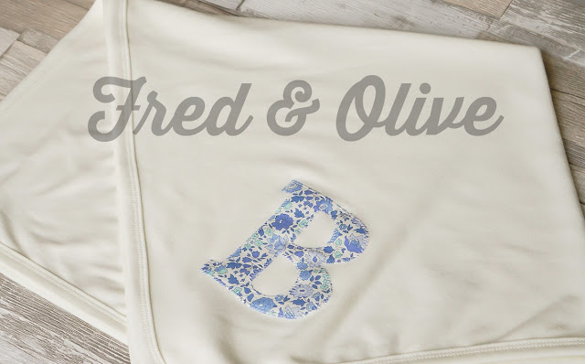 Fred & Olive Customised Blanket