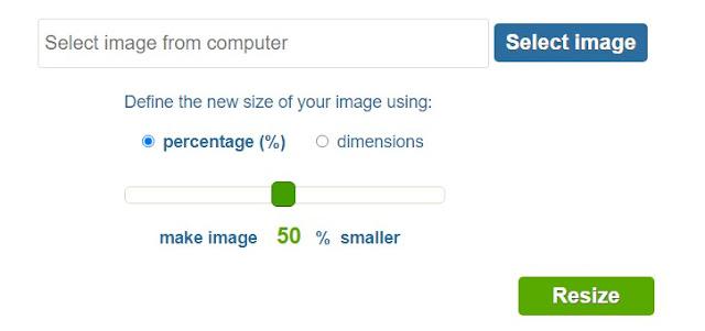 Phóng to và thay đổi kích thước ảnh không làm vỡ hạt và giảm chất lượng với các trang web online