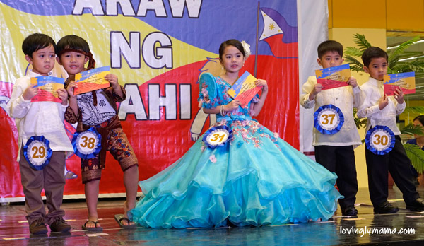 traditional Filipino costumes for kids - Bright Kids Preschool - Bacolod preschool - Araw ng Lahi