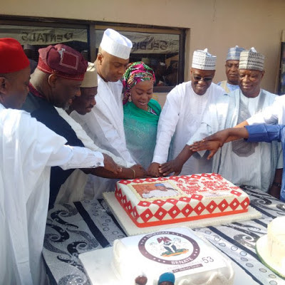 bukola saraki birthday five