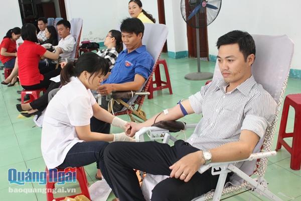 Bệnh viện Đa khoa Quảng Ngãi dự trữ 500 đơn vị máu dịp Tết