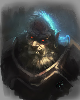 orc, lord of the rings, sketchbook, illustration, conceptart, douglas deri,how to paint, photoshop brushes, brushes, how to draw, como desenhar,