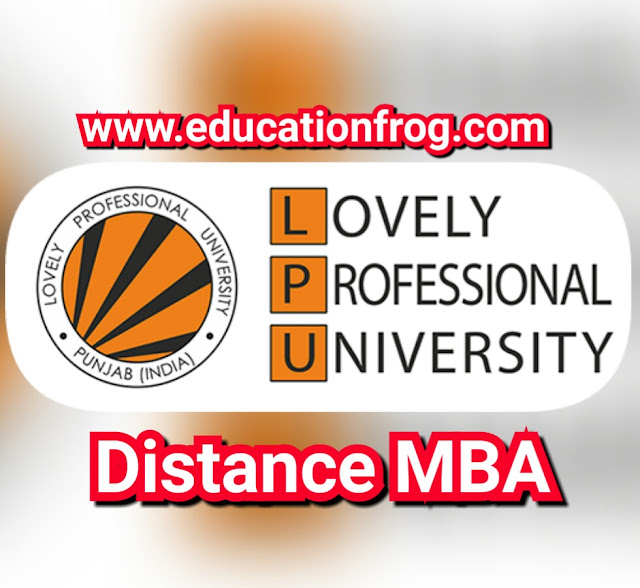 LPU Distance MBA