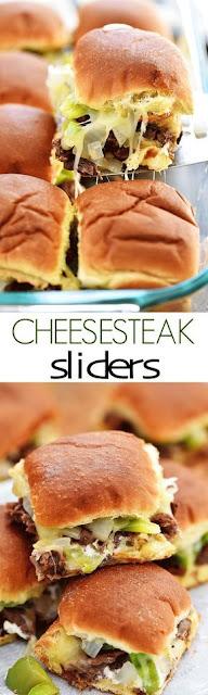 Cheesesteak Sliders