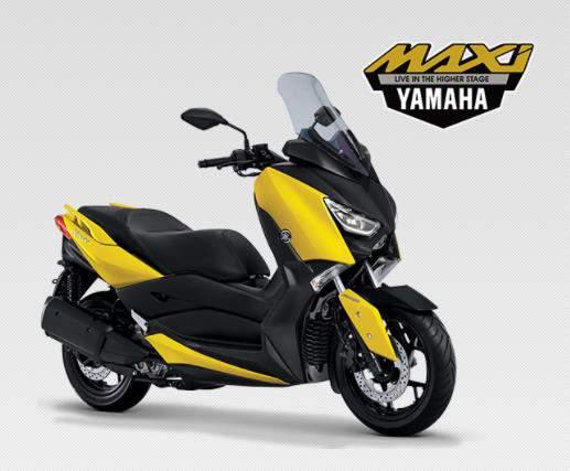 Yamaha_X_Max_250_Kuning