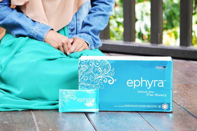 Ephyra Collagen Drink Dengan 9 Bahan Semulajadi Kaya Anti Oksida