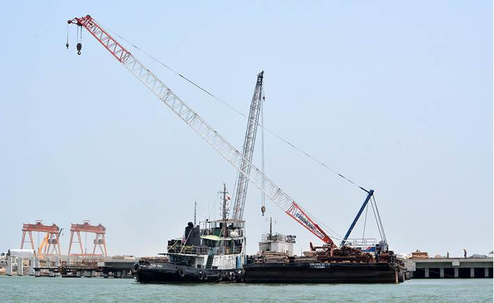A nivel macro, el TPP implicará mayores inversiones para la expansión y modernización de los puertos del Pacífico. (Foto: SCT)
