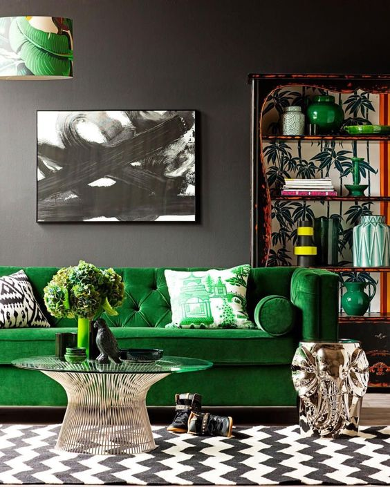 colores que combinan con verde