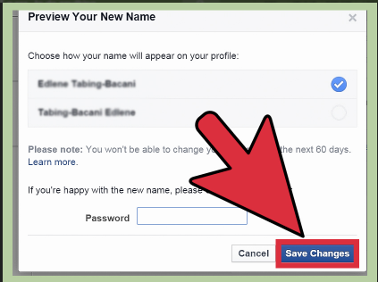 How to Edit My Name on Facebook
