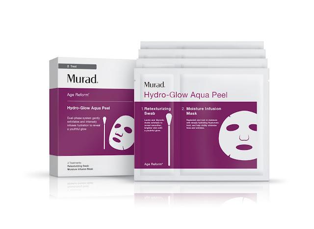 murad, dr. murad, hydro glow aqua peel, mask