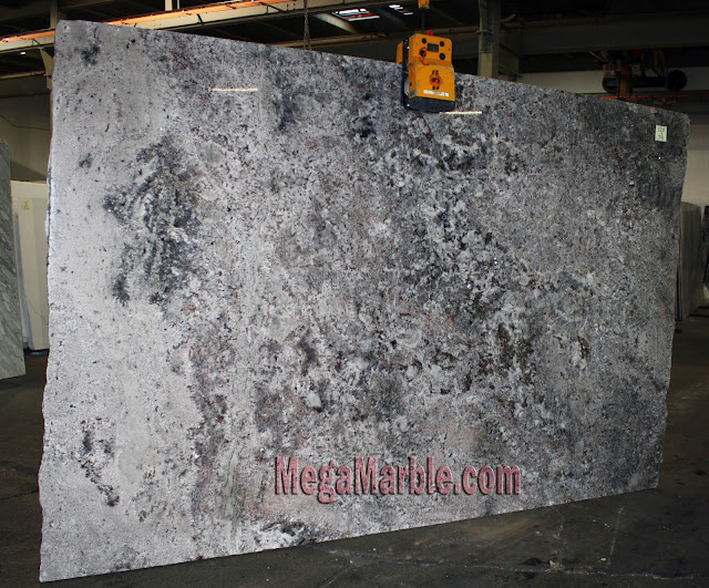 Blue Flower Granite slabs for countertop