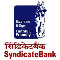 Syndicate Bank Recruitment 2017 for Adviser (Credit) Posts