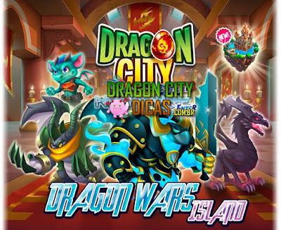 "ILHA ""DRAGON WARS"" - Em breve no jogo!"