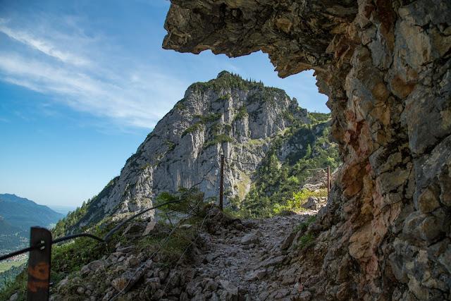 Höllentalklamm und Hupfleitenjoch  Wanderung Garmisch-Partenkirchen 09