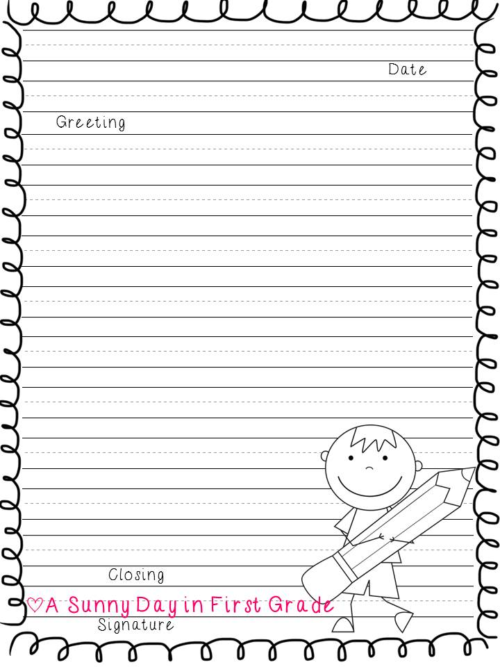 Second Grade Writing Activities