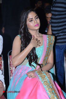 Actress Naina Ganguly Stills in Long Dress at Vangaveeti Audio Launch  0100.JPG