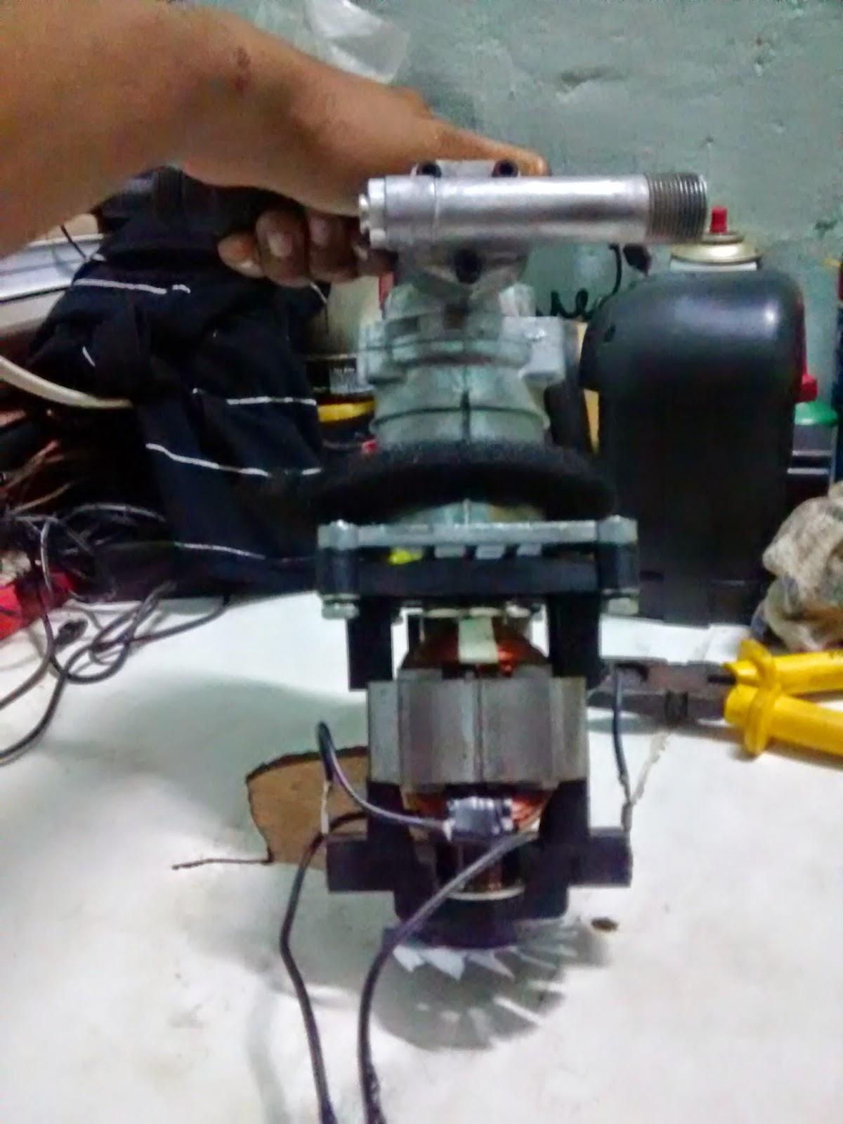 motor de lavadoura de alta pressão