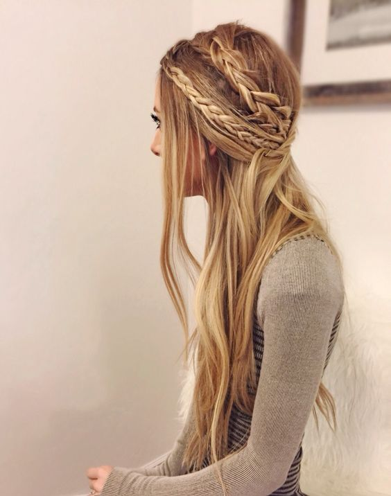 15 Chic braided hairstyles for long hair | Bling Sparkle