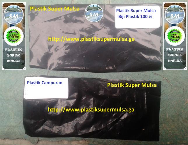 Grosir Plastik Mulsa Tambak Murni 100%