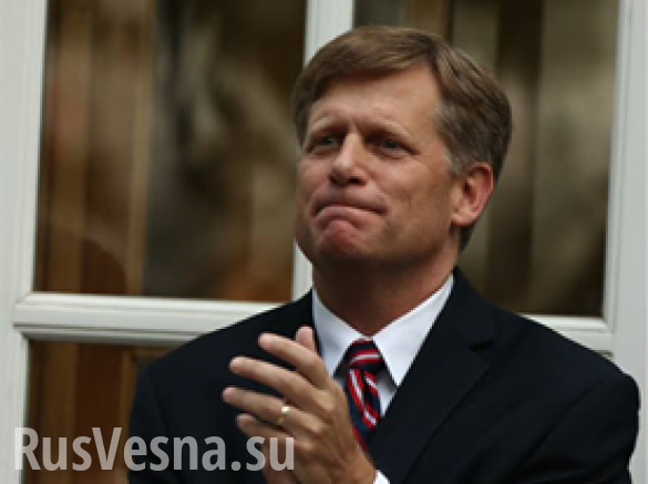 McFaul Thanks Russia for Liberating Palmyra
