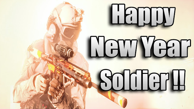 Happy NEw Year 2017 Image For Soldier